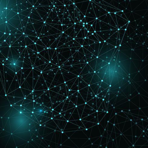 Abstrakter Techno-Hintergrund vektor