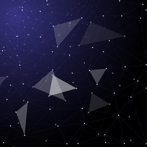 Abstrakter Techno zeigt Hintergrund vektor