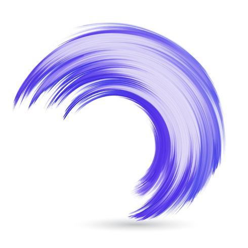 Aquarellwelle vektor