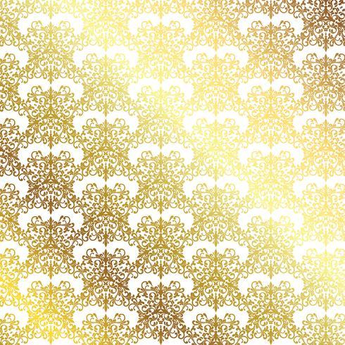 Guldmönster bakgrund vektor
