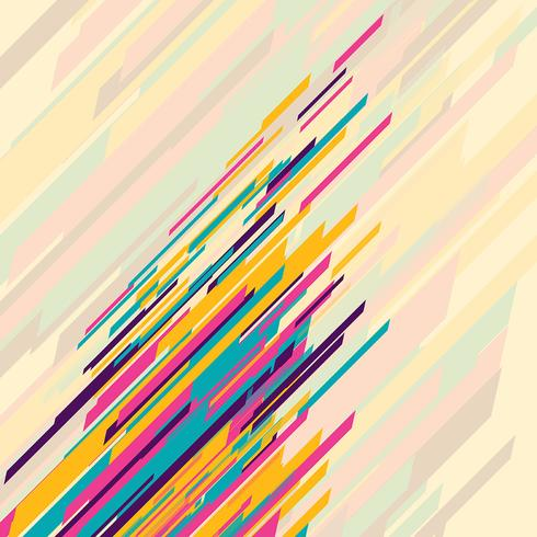 Abstrakt retro design vektor