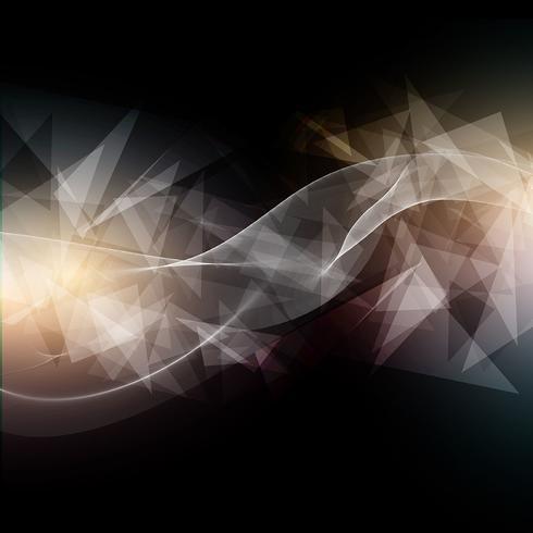 Abstrakt låg poly bakgrund vektor