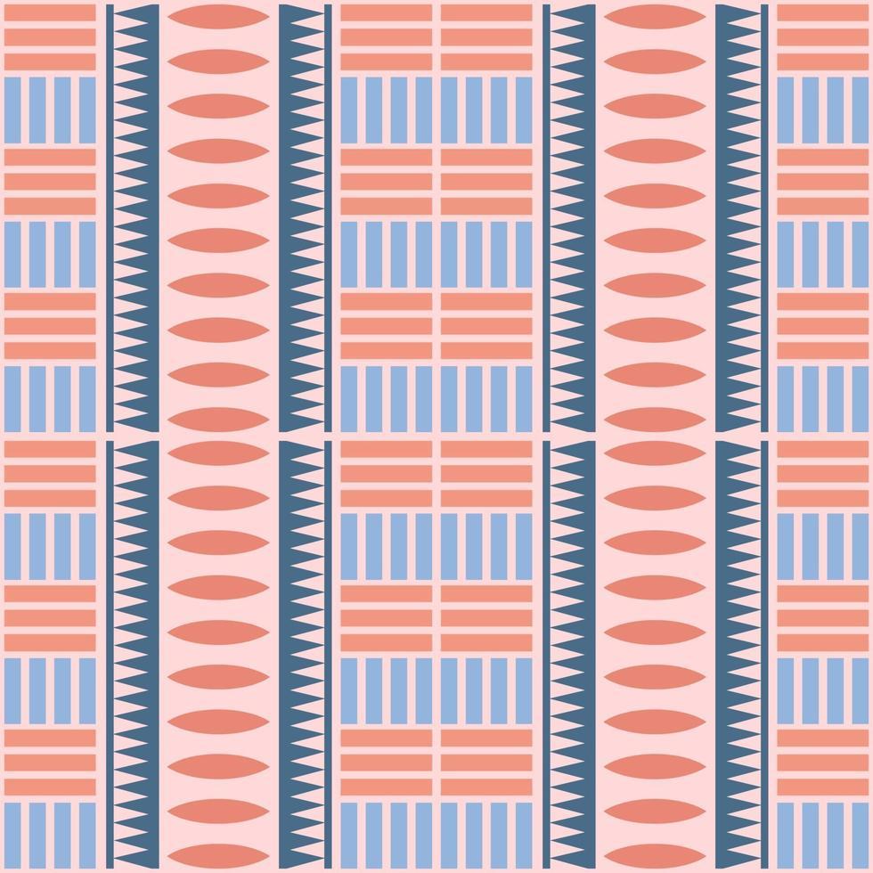 sömlös flerfärgad infödda bakgrund vektor
