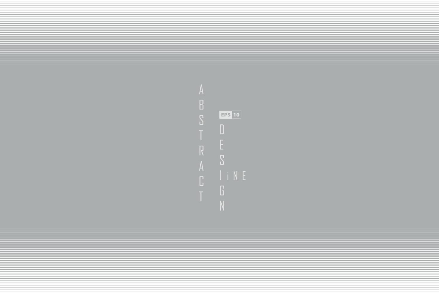 abstrakte Linie graues und weißes Design der Halbtondekoration. Illustrationsvektor vektor