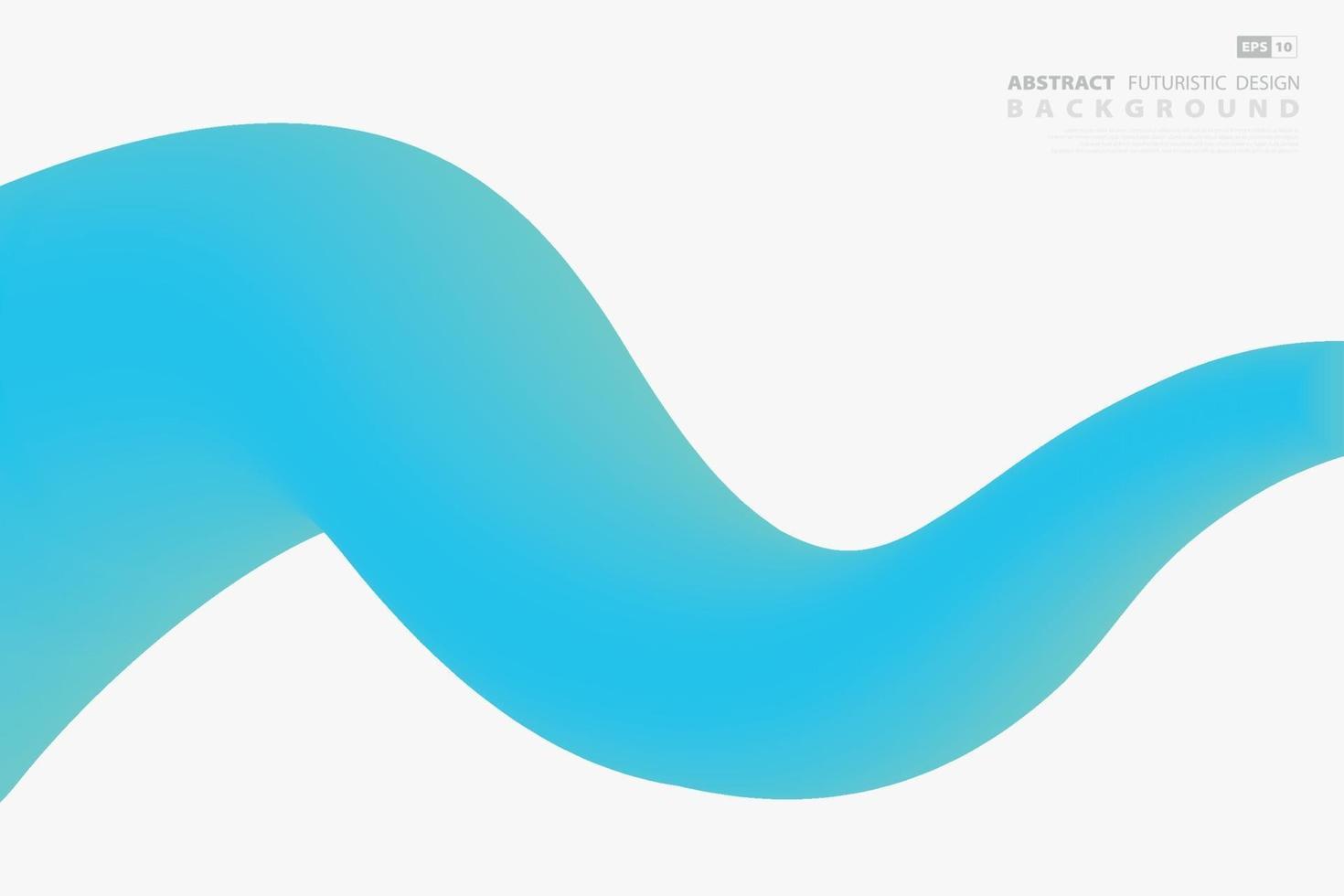 abstrakte blaue Wellenschablonenentwurf der Hauptwellenentwurfsschablone. zeigt einfache Linie des Hintergrunds. vektor
