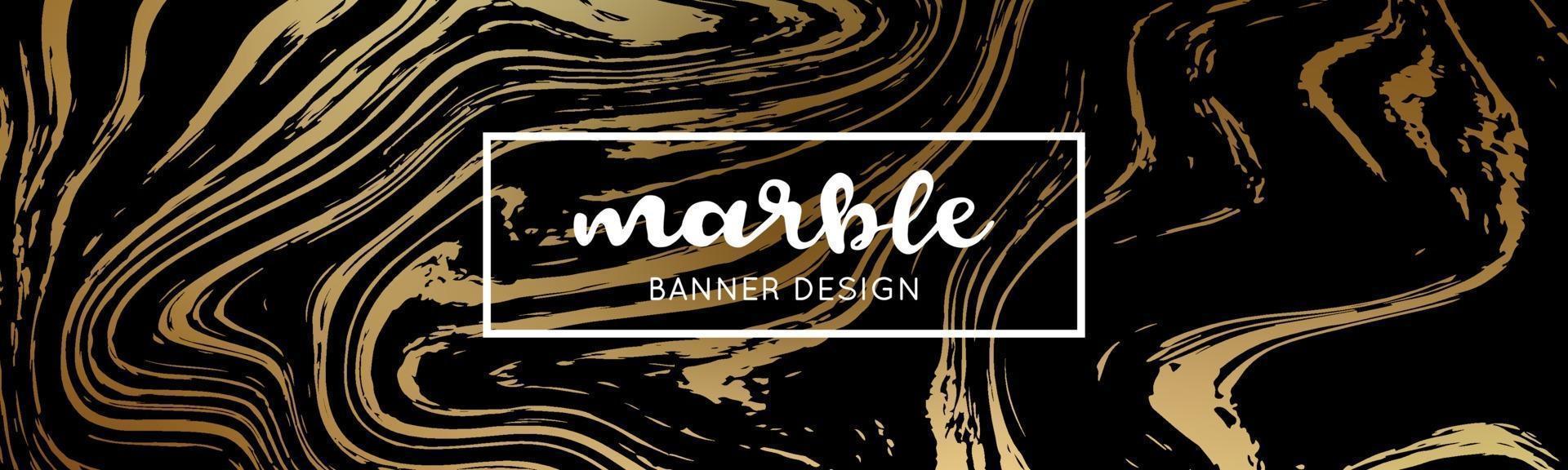 svart och guld marmor konsistens. abstrakt marmor bakgrund. vektor