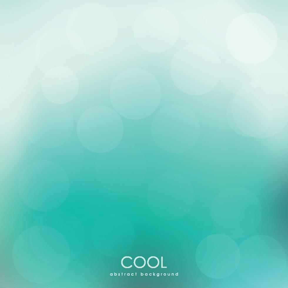 abstrakter grüner Bokehhintergrund. Frühling Tapete. vektor