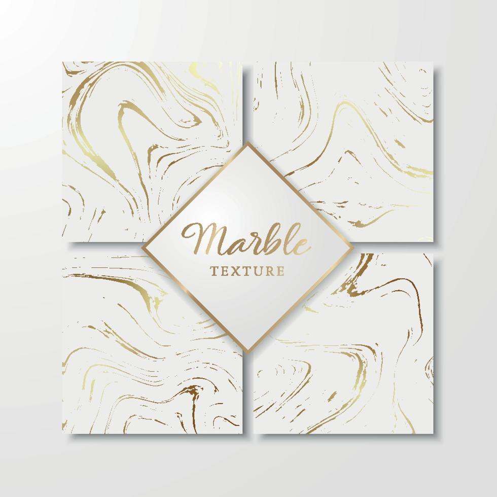 goldene Marmor Designvorlagen für Einladung, speichern Sie das Datum, Karten, Poster, Broschüren, etc. abstrakten Marmor Hintergrund. vektor