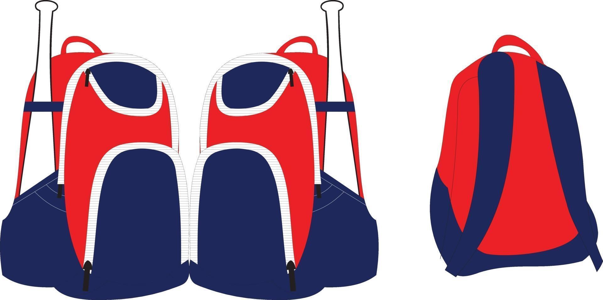 Sport Rucksäcke Tasche Illustrationen vektor