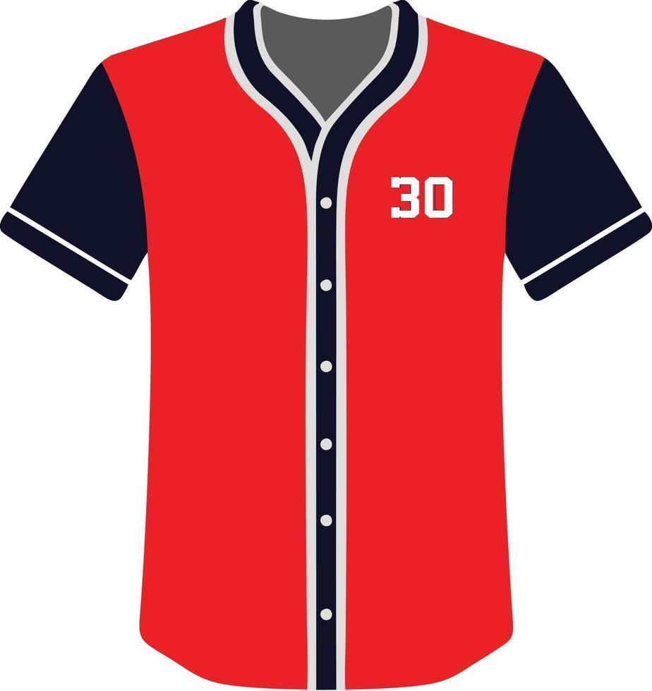 kundenspezifisches Design Baseball Trikots Symbol vektor