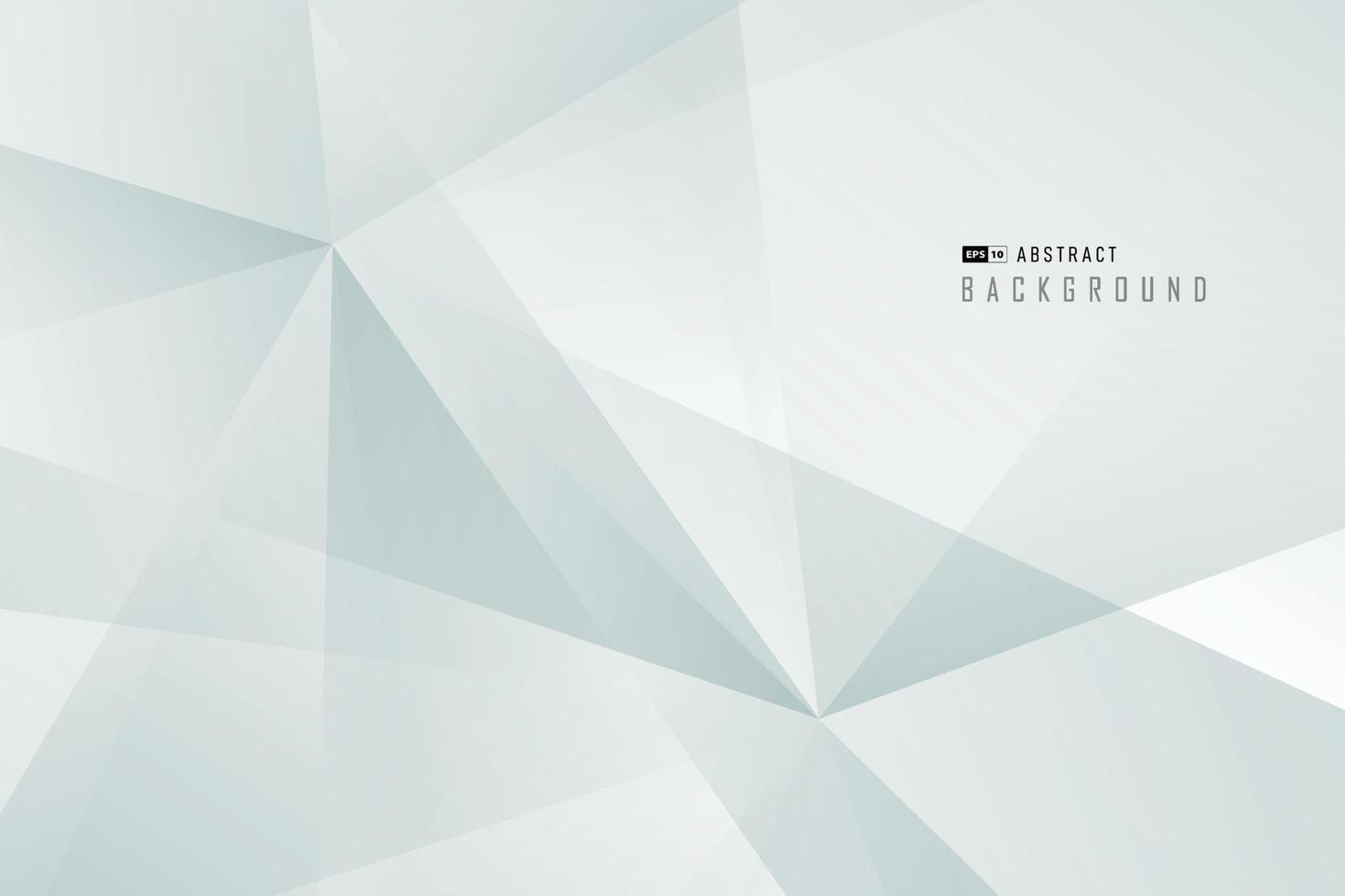 abstrakt framtid mjuk grön polygon dekoration design bakgrund. illustration vektor