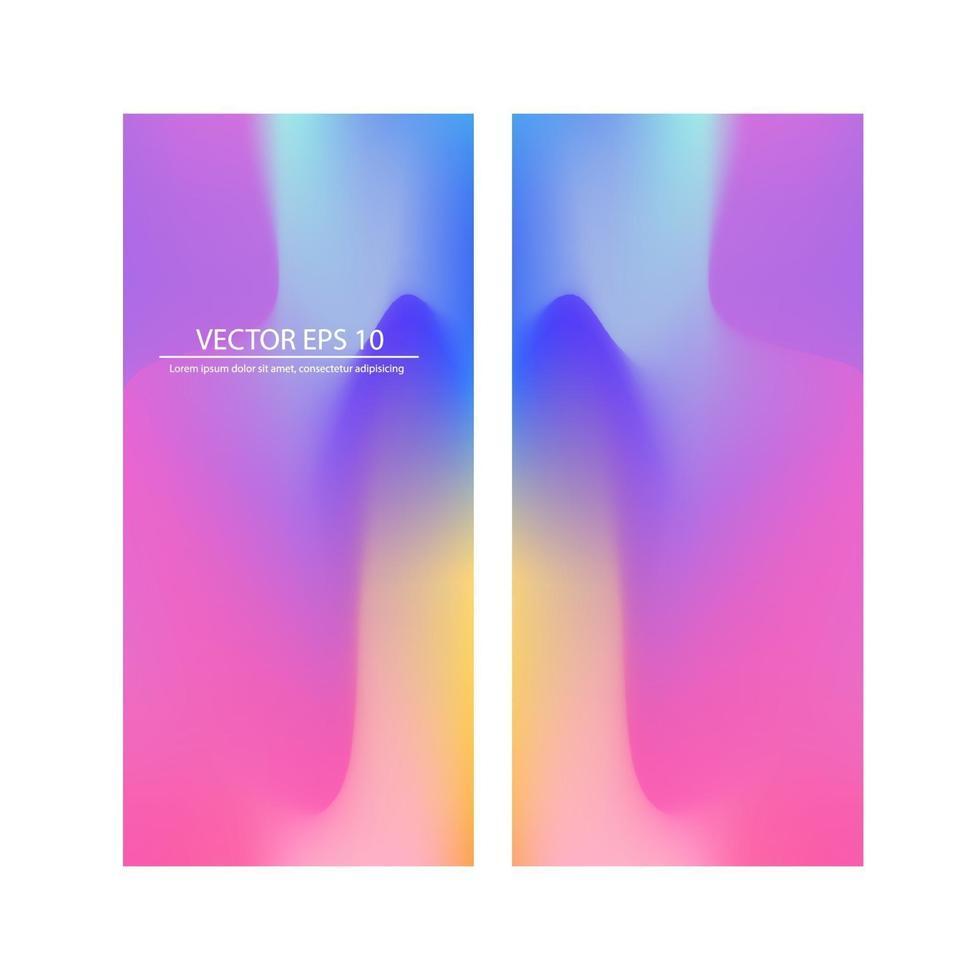 flygblad mall rubrik design. abstrakt färgglada flytande och flytande färger bakgrund för affisch design. röd, violett, blå, gul, lila. vektor banner affisch mall 210x98 mm