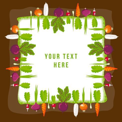 Gemüse Garten vektor