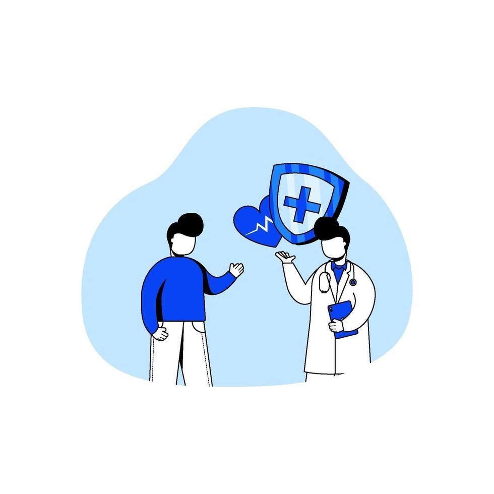 sjukvård ikon koncept vektor