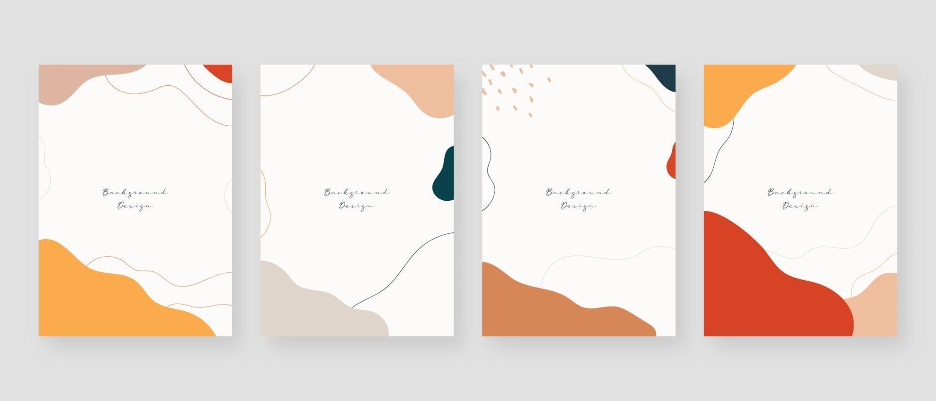 minimaler Konzepthintergrund. abstrakte Memphis-Hintergründe mit Kopierraum für Text. Vektorillustration. vektor