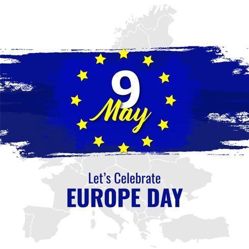 Europas nationaldag vektor