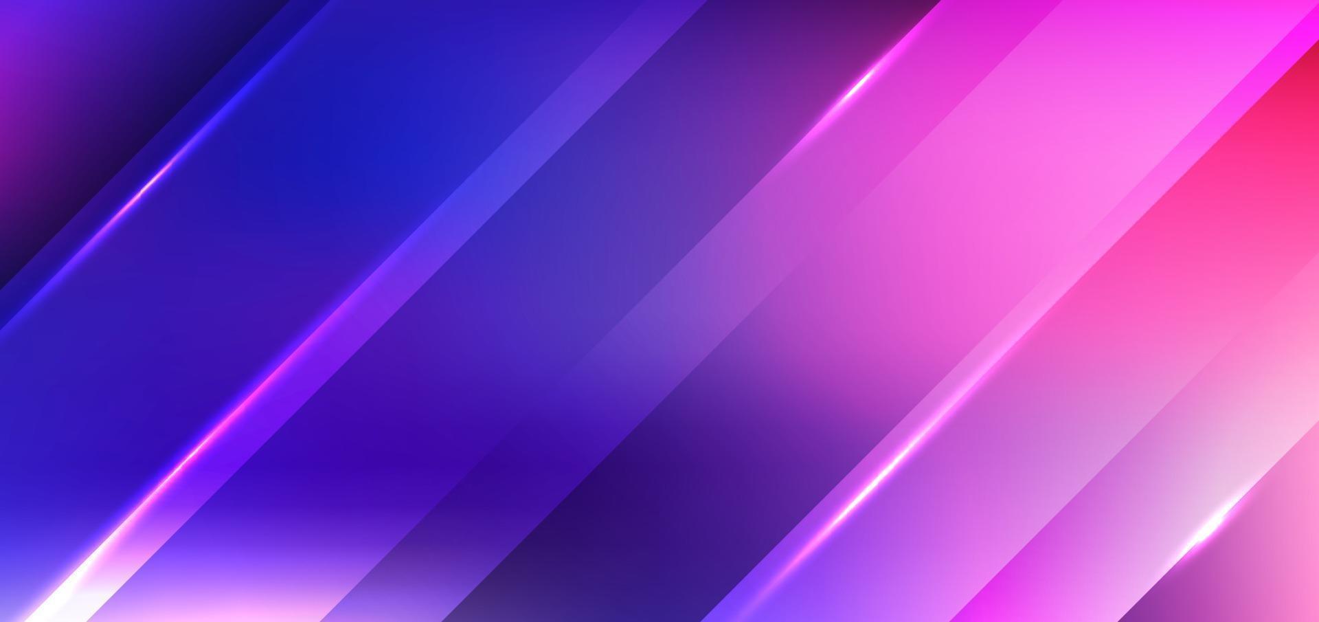 abstrakta diagonala ränder med ljusblå och rosa bakgrund och konsistens vektor