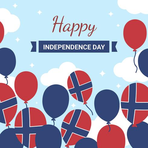 Norska självständighetsdagen vektor