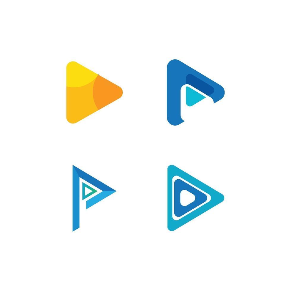 Logo-Vektor spielen vektor