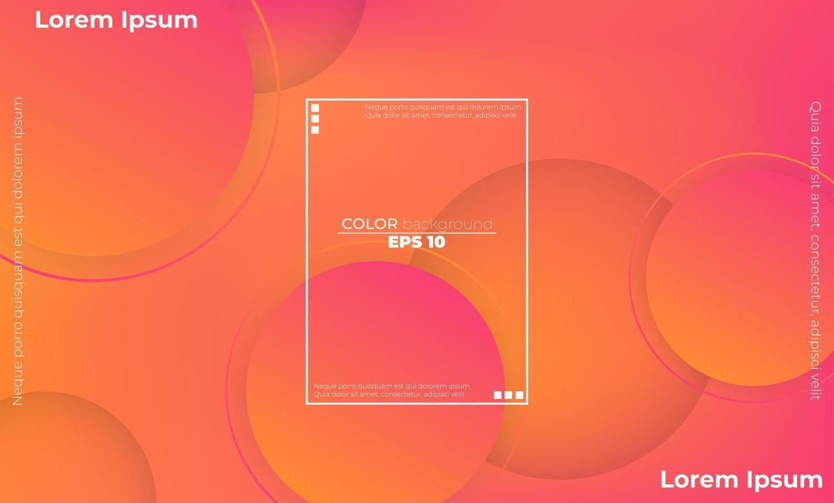 minimalistischer moderner abstrakter Hintergrund mit geometrischen Formen und Linien vektor