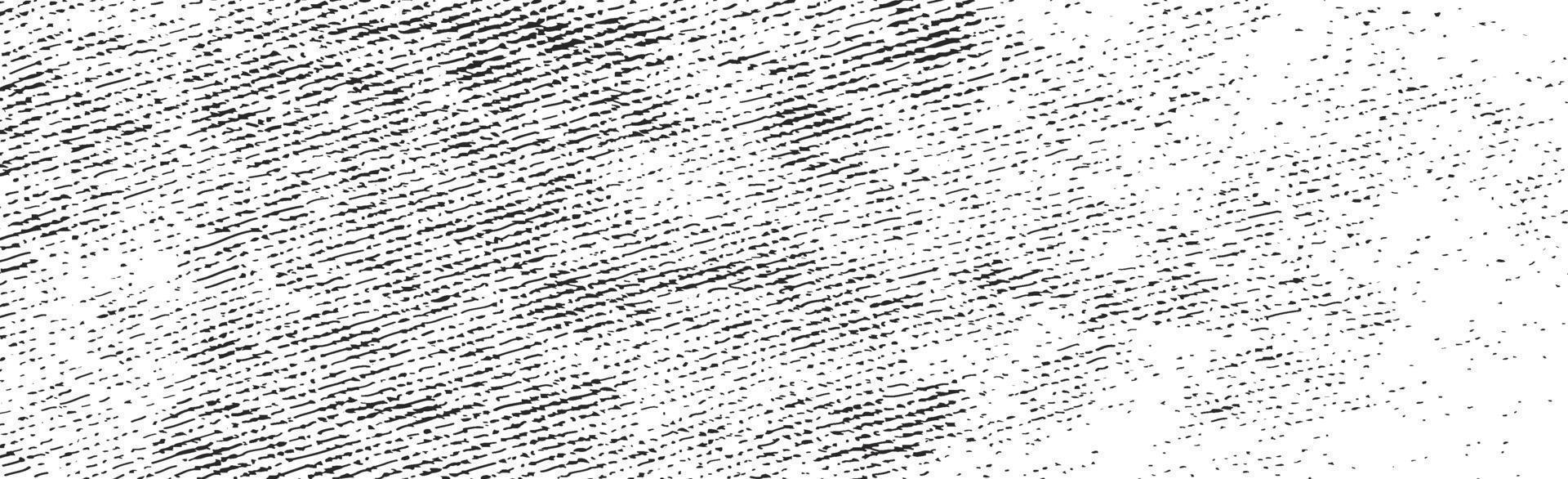 grunge svarta linjer och prickar på en vit bakgrund - vektorillustration vektor