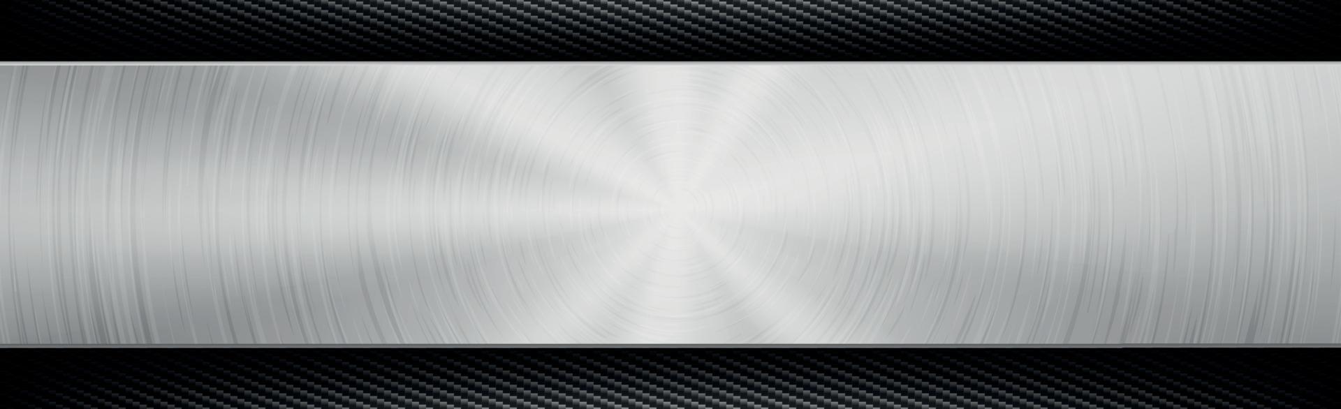abstrakt bakgrund för metall- och kolfibertextur - vektorillustration vektor