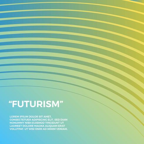 Futurism Vektor Bakgrund