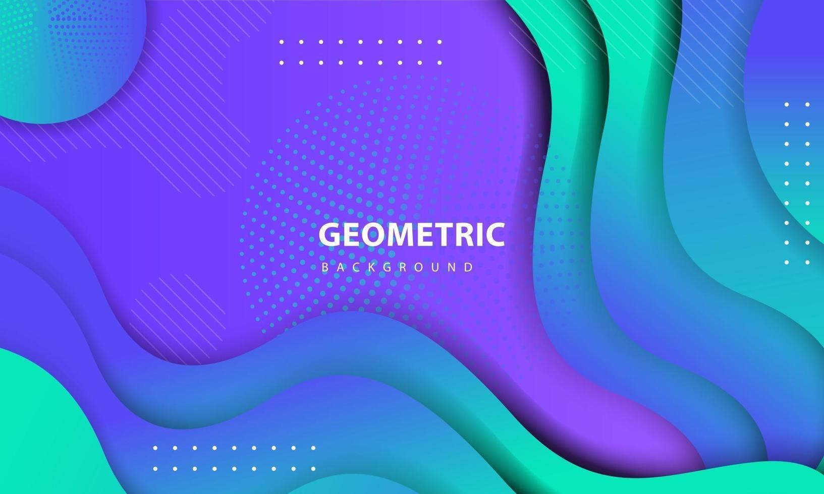 abstrakter bunter Hintergrund. strukturiertes geometrisches Elementdesign mit Punktdekoration. Entwurfsvorlage für Landing Page, Banner, Poster, Cover usw. vektor