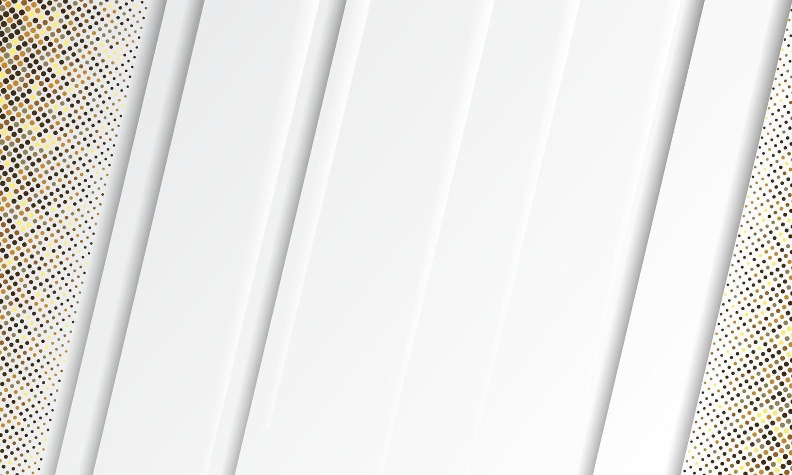 abstrakter weißer Hintergrundvektor. eleganter Konzeptentwurfsvektor. Textur mit Silber glitzert Punkte Element Dekoration. vektor