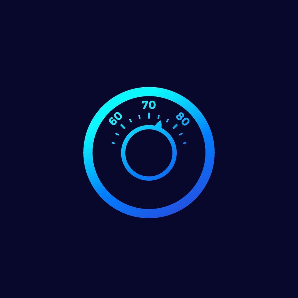 termostatikon för webb och apps.eps vektor