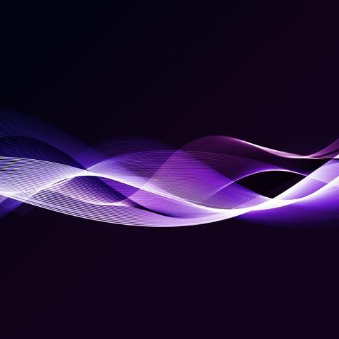 Abstrakta vågor vektor