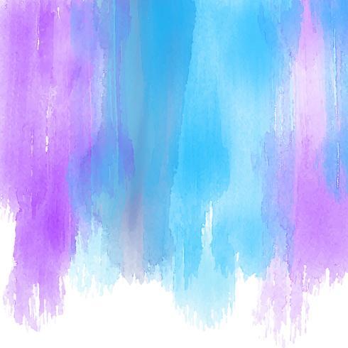 Akvarellfärgstreck bakgrund vektor