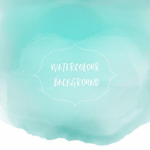 Akvarell tvätt bakgrund vektor