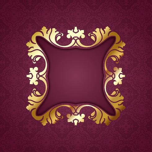 Dekorativt mönster bakgrund vektor
