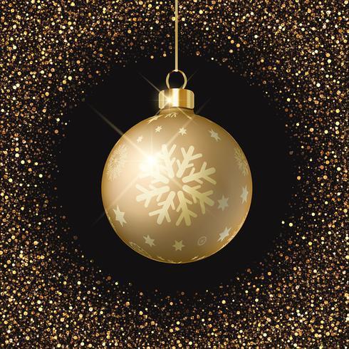 Julgran bakgrund vektor