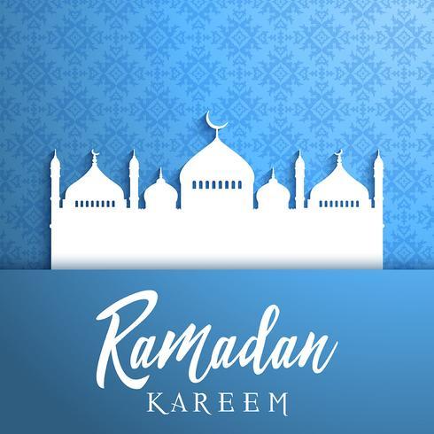Decorative background for Ramadan vektor