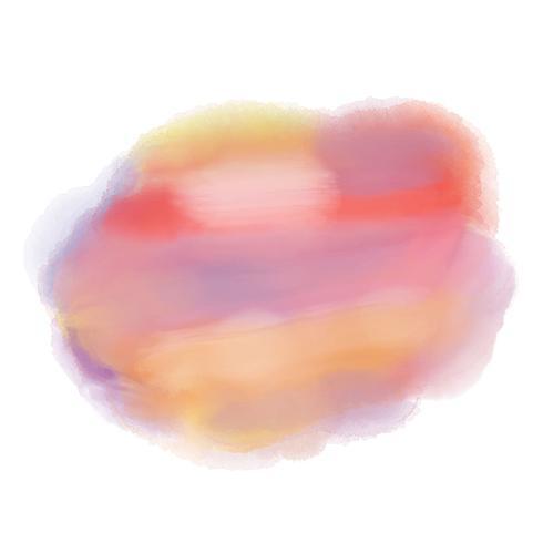 Aquarell färbt Hintergrund vektor