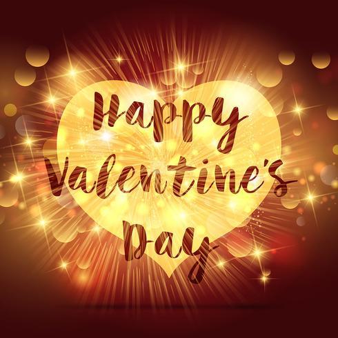Alla hjärtans dag hjärta vektor
