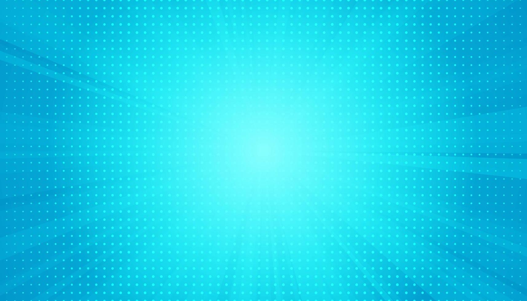 popkonst bakgrund. retro prickig bakgrund. vektor illustration. halvton blå popkonst