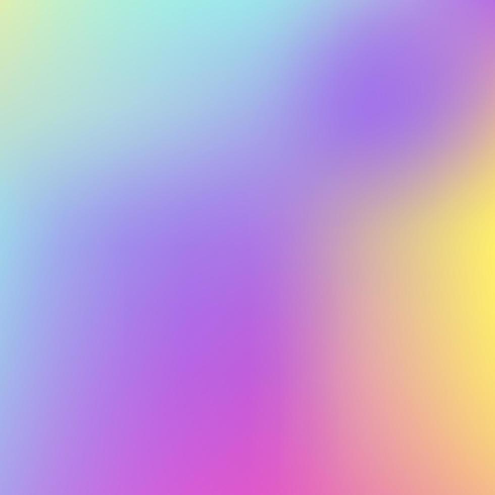 abstrakt holografisk bakgrund i pastellfärgad neonfärgdesign. suddig tapet. vektorillustration för din moderna stiltrender 80-talet 90-talet bakgrund för kreativ design vektor