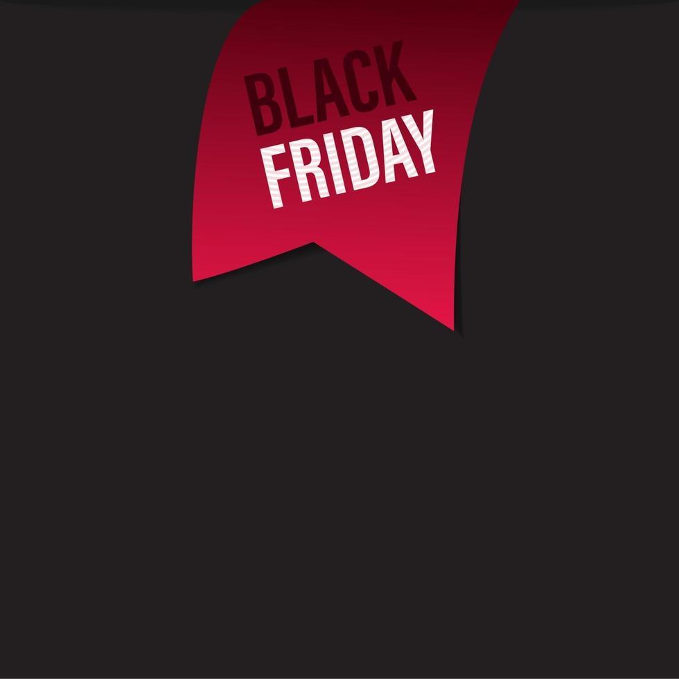 svart fredag försäljning band banners samling isolerad. vektor prislappar.