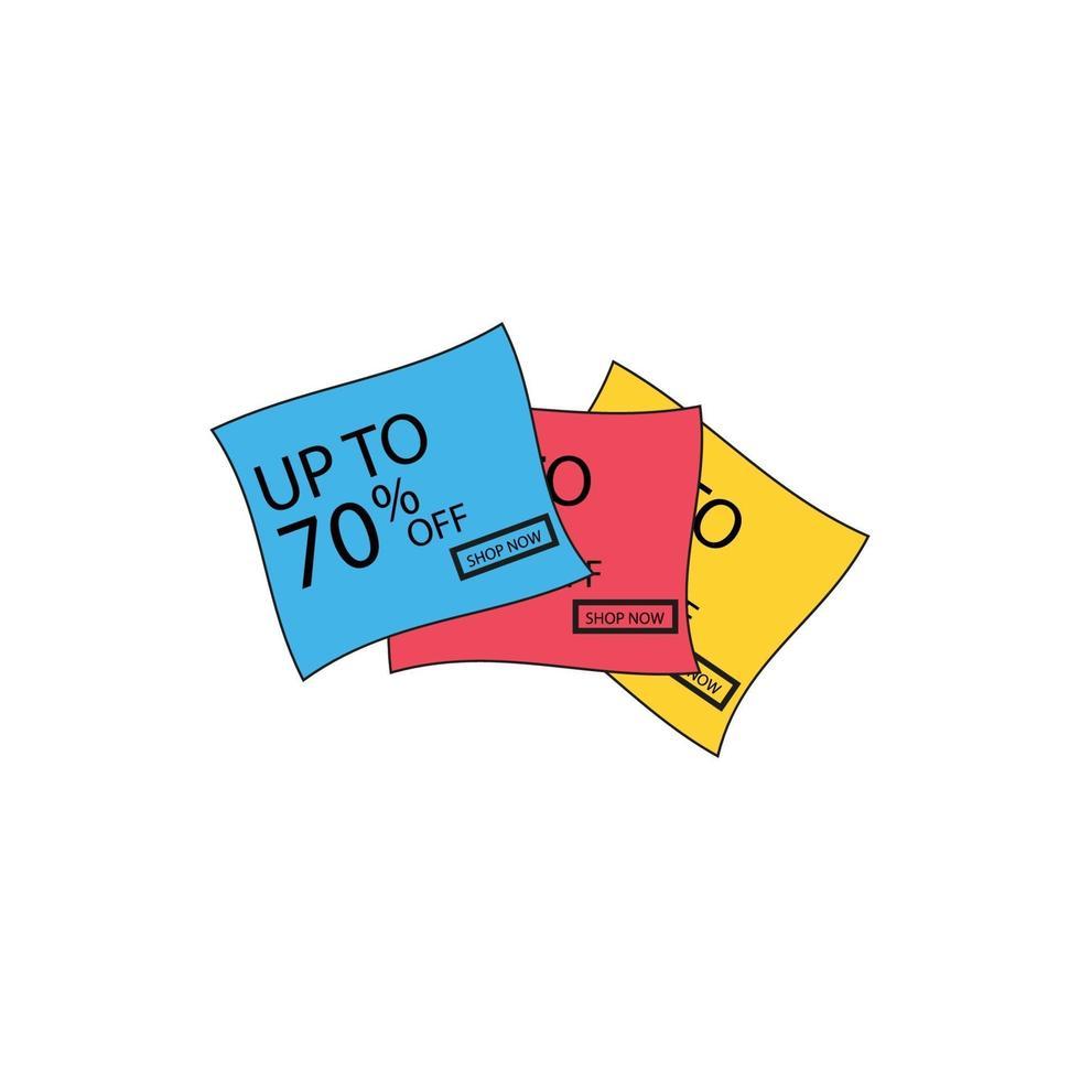 erbjudande tag set. vektor rabatt klistermärken. samling klistermärken, prislappar. försäljning, gratis, nytt