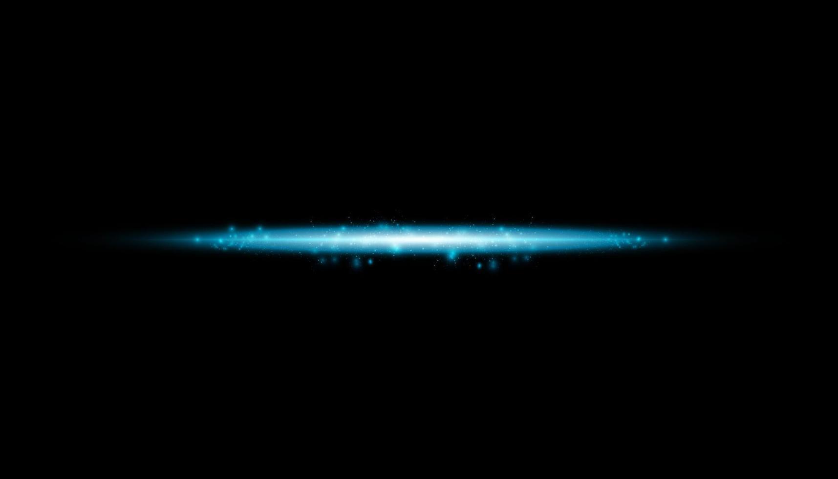 glödisolerad blå effekt, linsflare, explosion, glitter, linje, solblixt, gnista och stjärnor. för illustration mall konst design, banner för jul fira, magiska blixt energi stråle. vektor