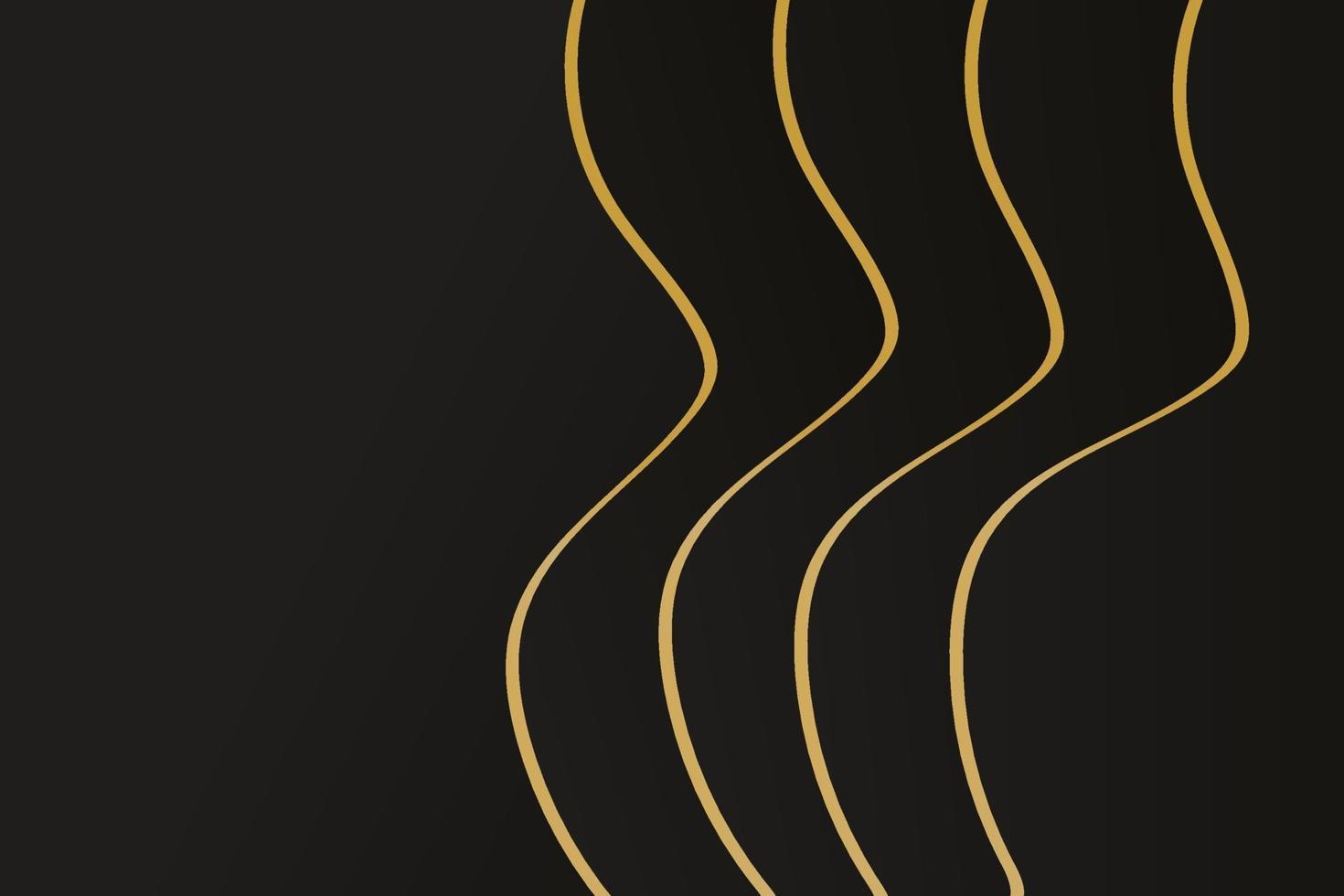 abstrakt polygonal mönster lyx mörkblå med guld vektor