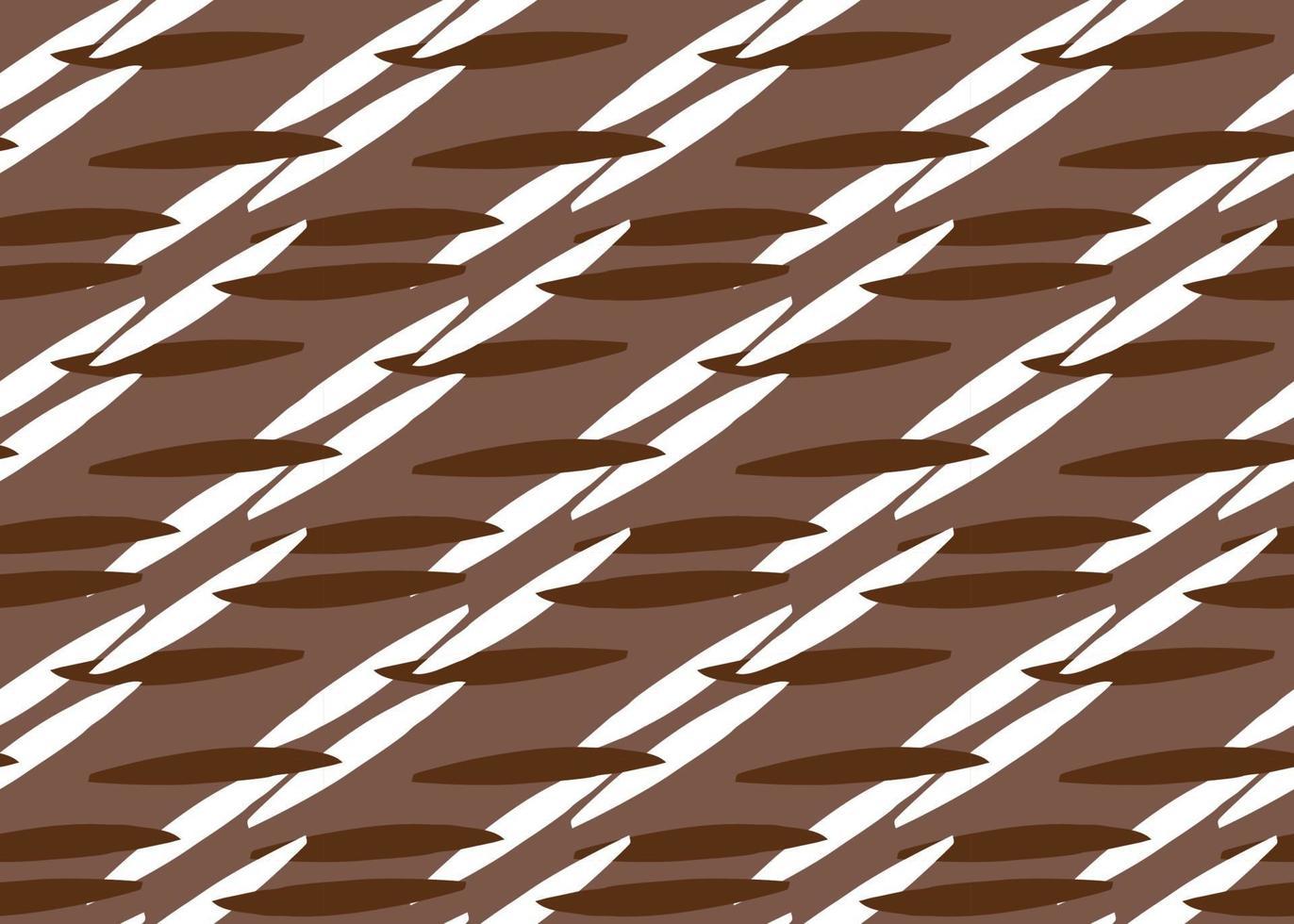handritade, bruna, vita färglinjer sömlösa mönster vektor