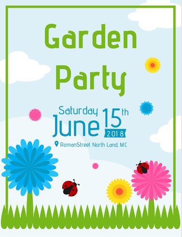 Einladung vorlage gartenfest Einladung Gartenparty