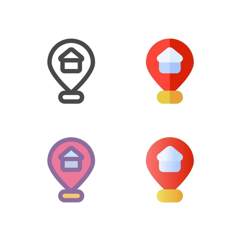 stift ikon pack isolerad på vit bakgrund. för din webbdesign, logotyp, app, ui. vektorgrafikillustration och redigerbar stroke. eps 10. vektor