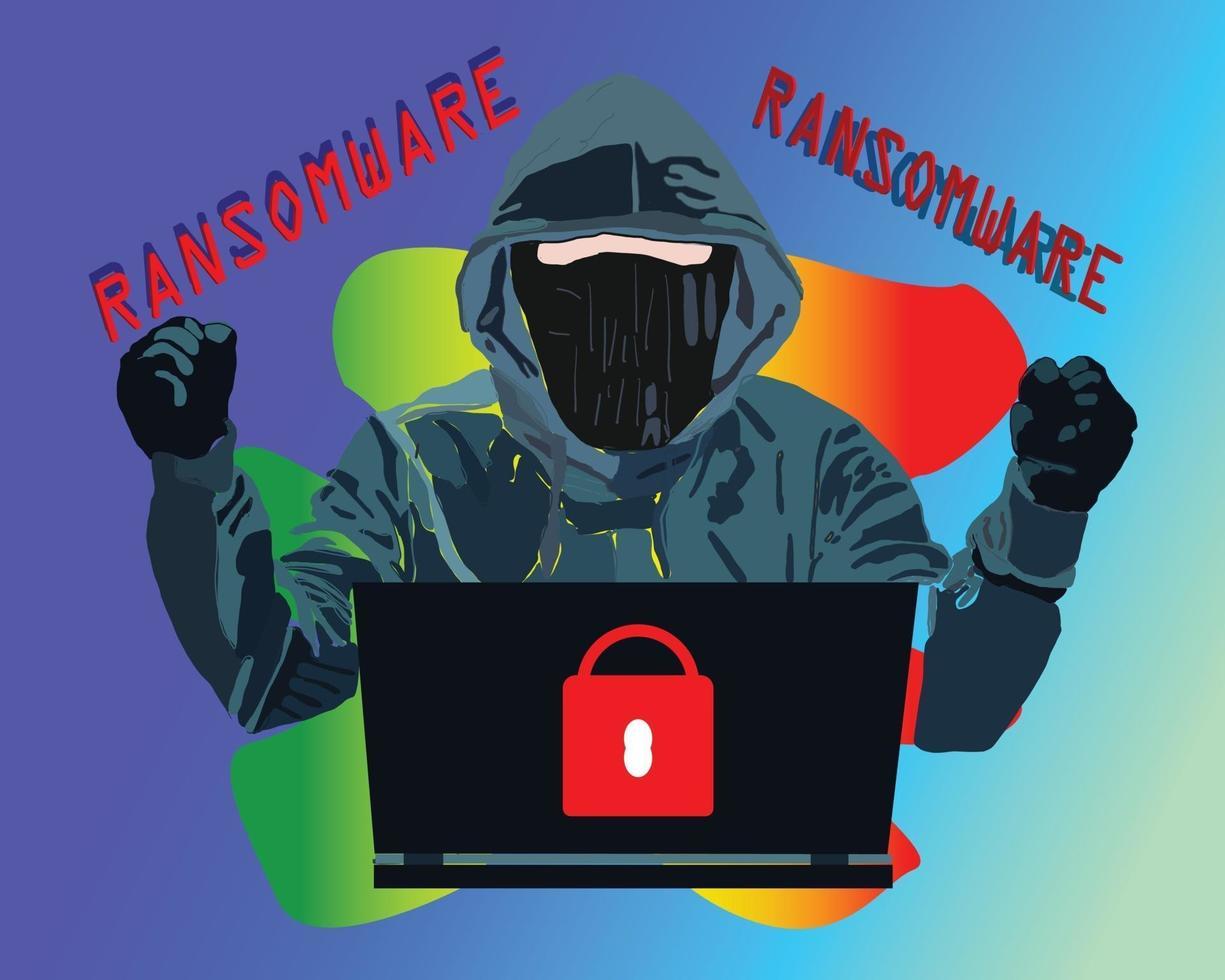bluff bedrägeri falska nyheter ransomware vektor