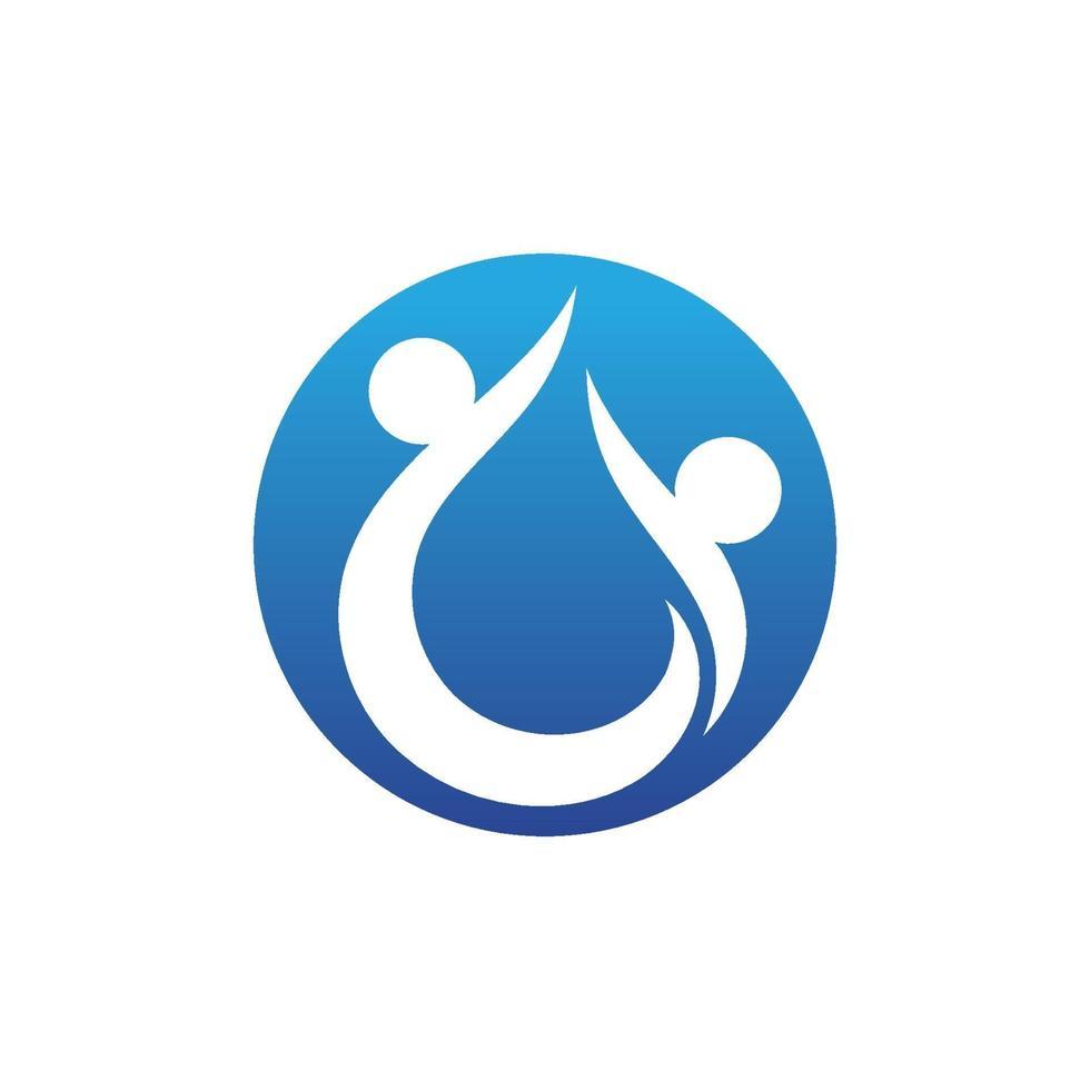 mänsklig karaktär logotyp tecken vektor