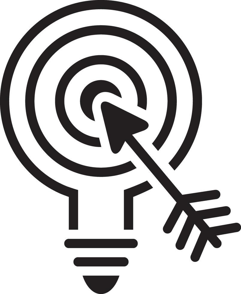 Liniensymbol für Marketing vektor